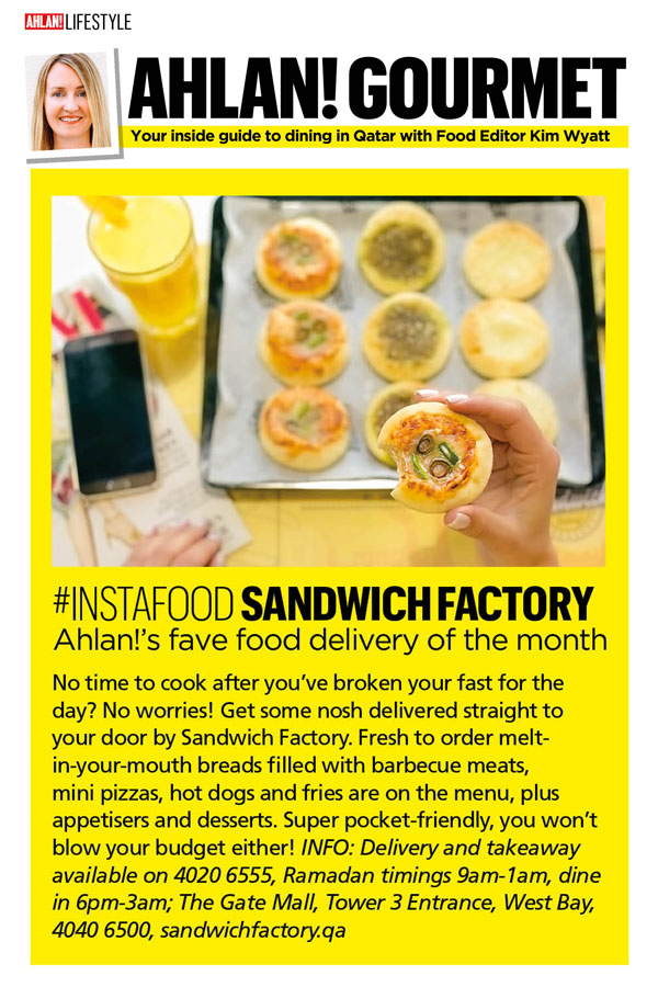 Sandwich Factory features - Alhan